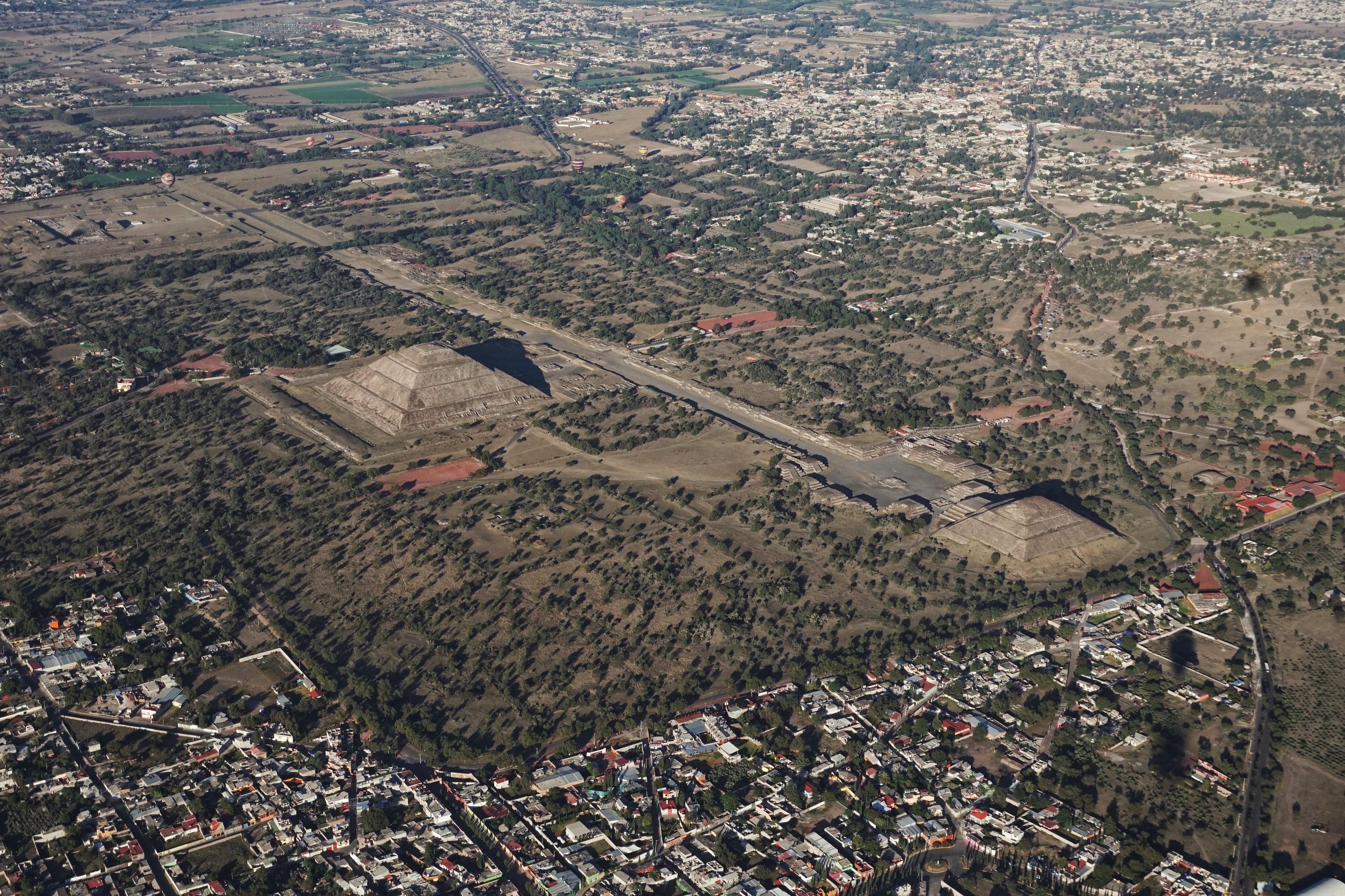 Teotihuacán do topo